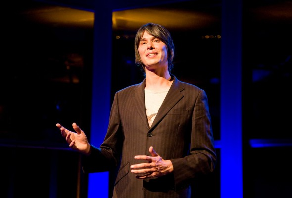 Professor Brian Cox speaking at a previous event