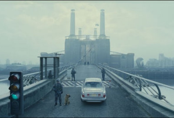 Battersea power station in Children of Men