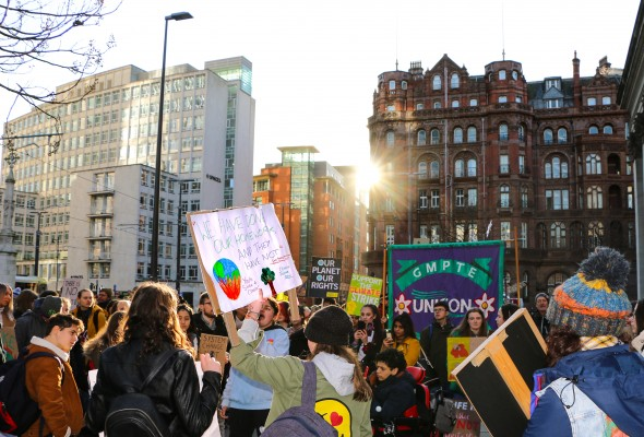 climate strike, global climate strike, climate crisis, manchester protest, protest, strike