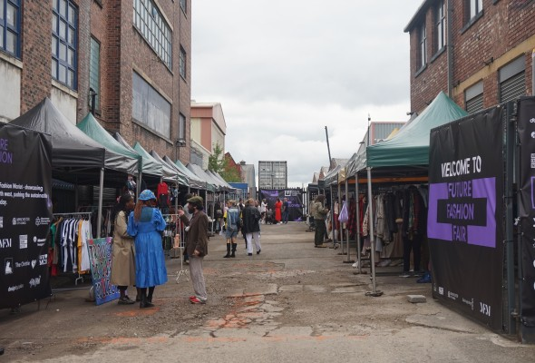 Future Fashion Fair showcased sustainable brands at The Yard, Bent Street