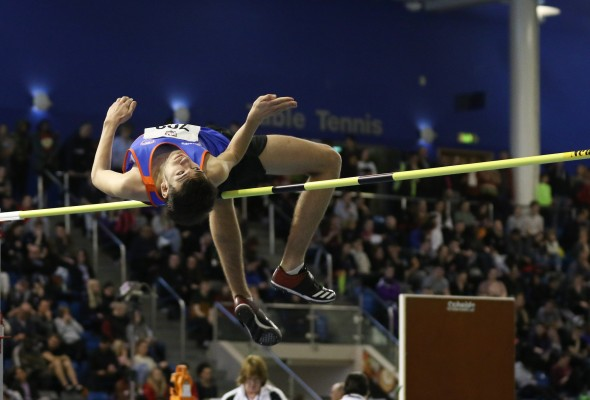 High Jumper Steven Jones
