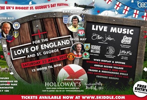 For the Love of England and St. George poster