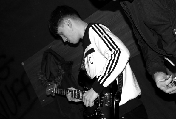 Tom Edwards - Bass player of Dirty Laces