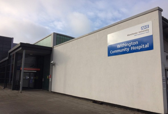 Withington Community Hospital in Manchester