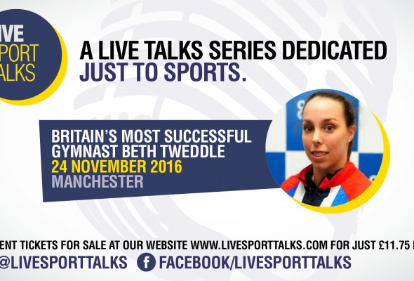 Live Sport Talks evening with Beth Tweedle