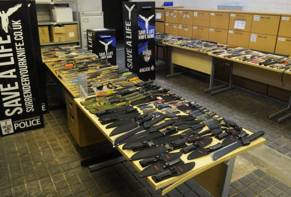knives, amnesty, manchester, gmp, bins