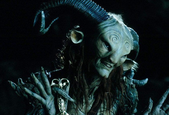 Doug Jones in Pan's Labyrinth: Credit: Telecinco