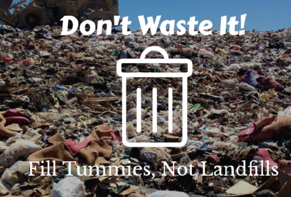 tummies not landfills