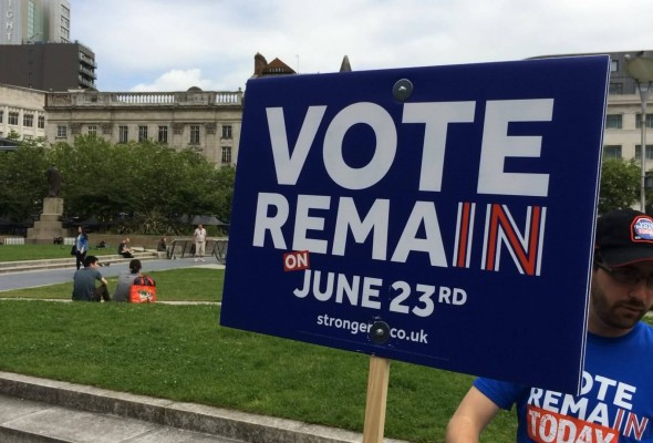 Remain placard