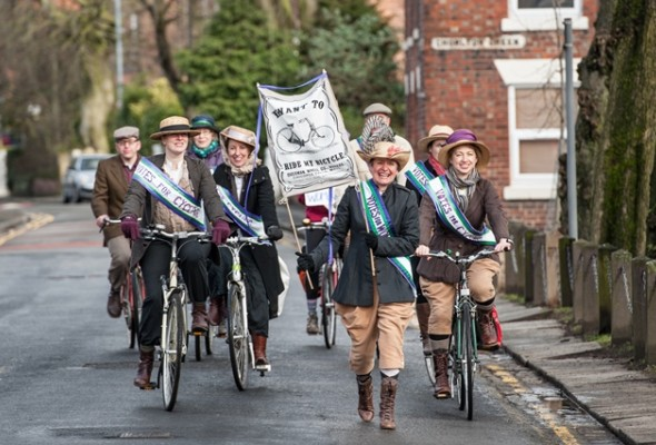Women on Wheels, Cycle to work, Transport for Greater manchester,