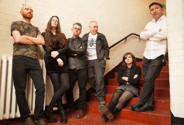 Left to right: Chris Griffiths, Rhona Mapperley, Darren Tolliday, Paul Jones, Ruby Sherwood-Martin and Eddie Sherwood. Photograph: Sabrina Fuller