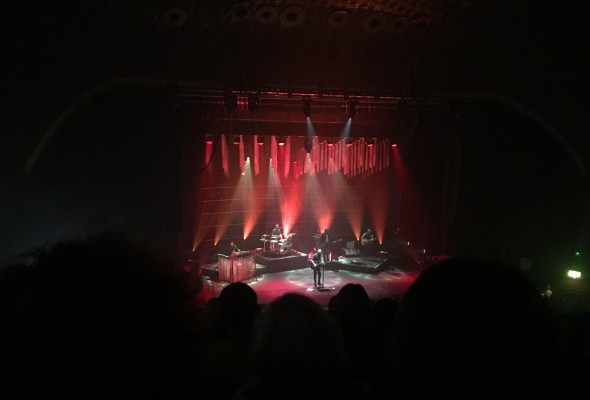 Passenger on stage at the O2 Apollo