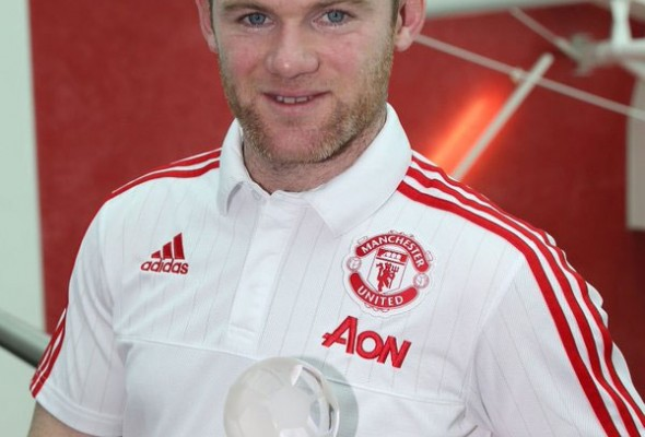 Wayne Rooney, Manchester United, January, Player of the month