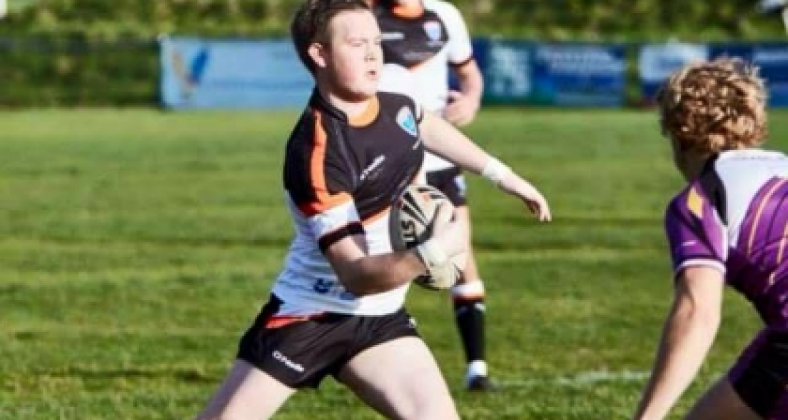 Josh Dean, MMU student and Rugby star