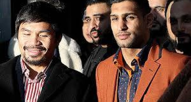 Khan vs Pacquiao talks begin