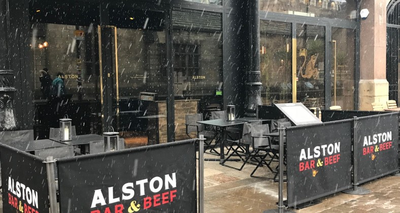 Cold weather, Homelessness, Manchester,  Restaurant,