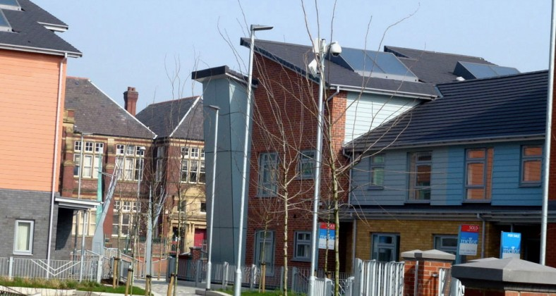 Private housing in Moss Side. Photo courtesy of Alex Pepperhill on Flickr