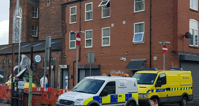 GMP, Ancoats, murder, Swan Street, Shush Apartments