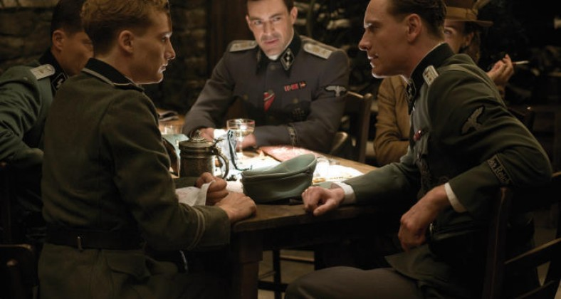 Bar scene in Inglourious Basterds