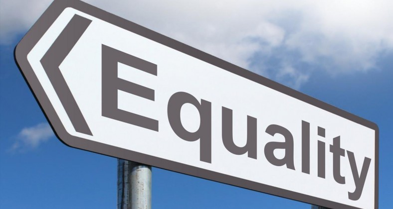 Equality Sign, by Alpha Stock Images, CC BY-SA 3.0