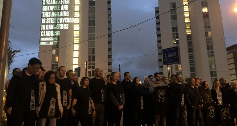 Grenfell United at the NQ building