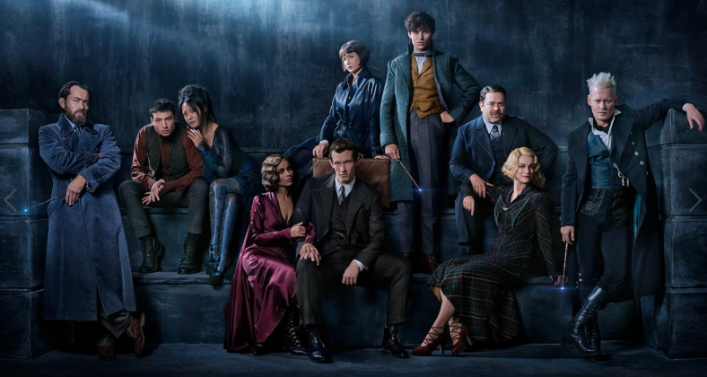 Group Picture of Cast: Photo by Warner Bros