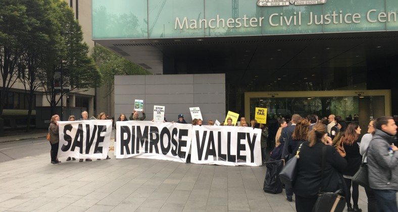 Rimrose Valley, protestors, Manchester high court, liverpool