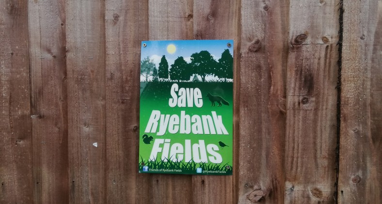 Poster for Save Ryebank Fields