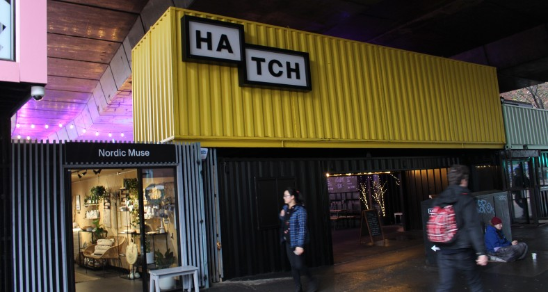The outside of Hatch on Oxford Road