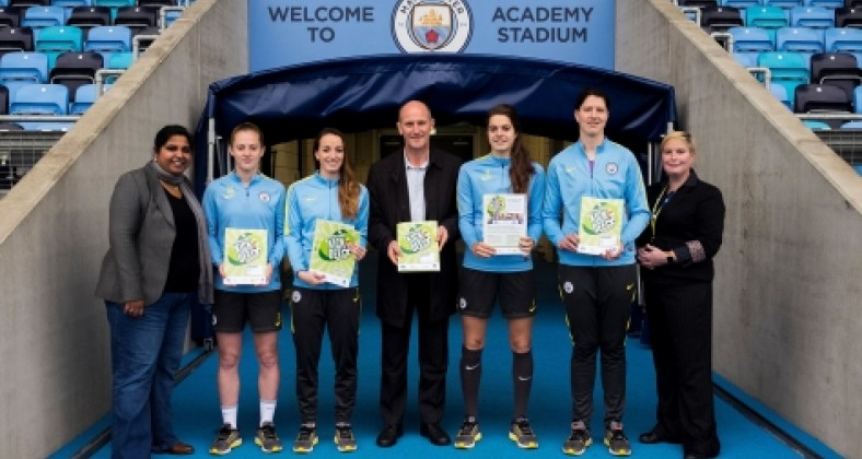 man city womens football, language league, routes into languages