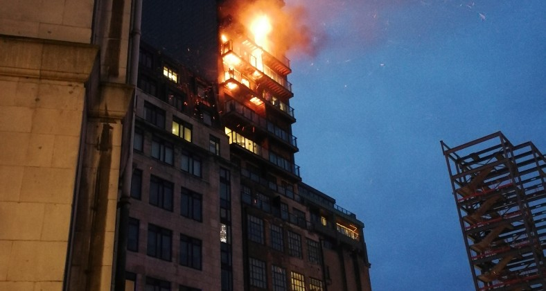 fire, northern quarter, joiner street, apartments