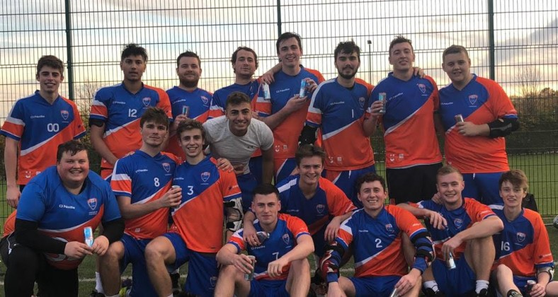 Manchester Metropolitan University Mens Lacrosse team have gone unbeaten in 2018