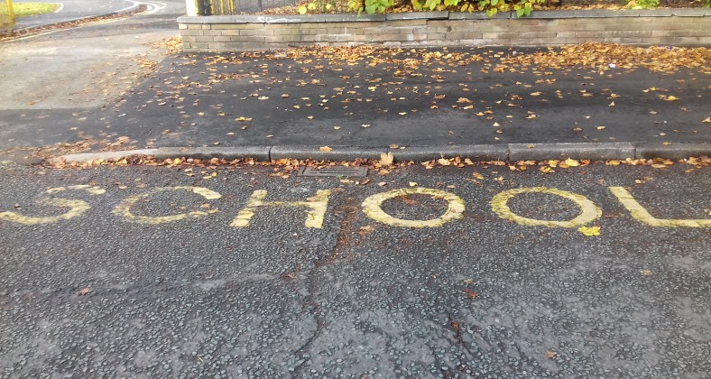 No police speed cameras near a school on Withington Road could result in a death of a child