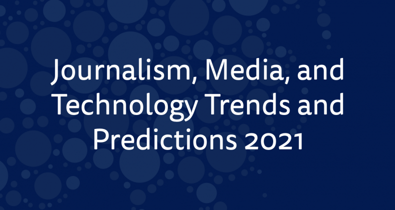 shot of the trends and predictions report