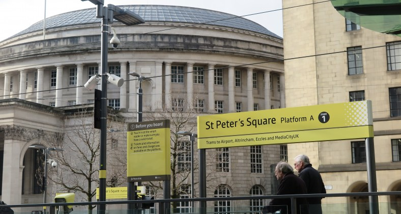 St Peter's Square Tram stop