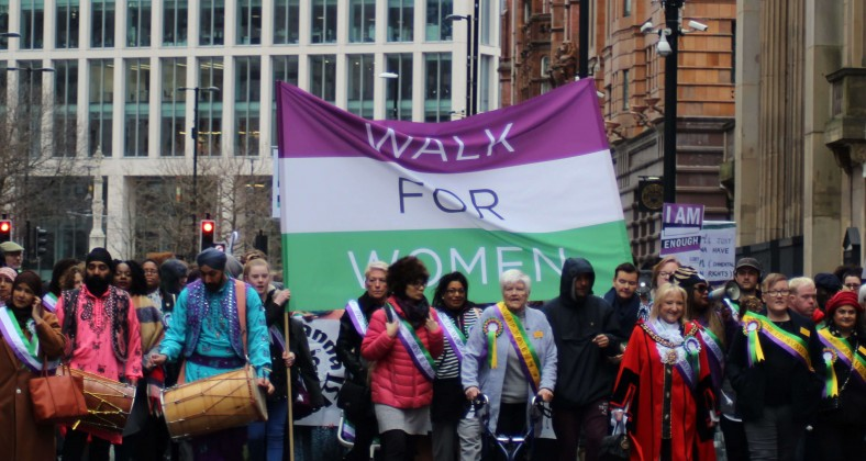 Walk for women Manchester 2019