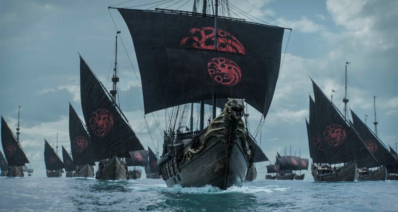 Targaryen fleet in Game of Thrones