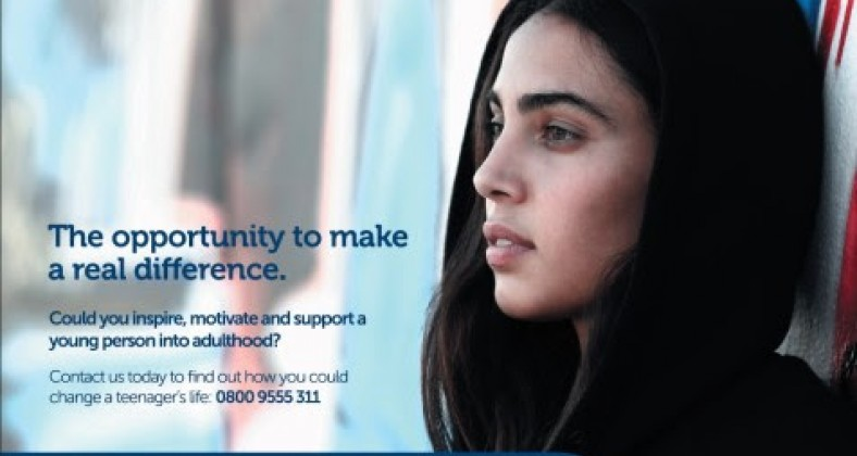 Bury Council advert for foster carers