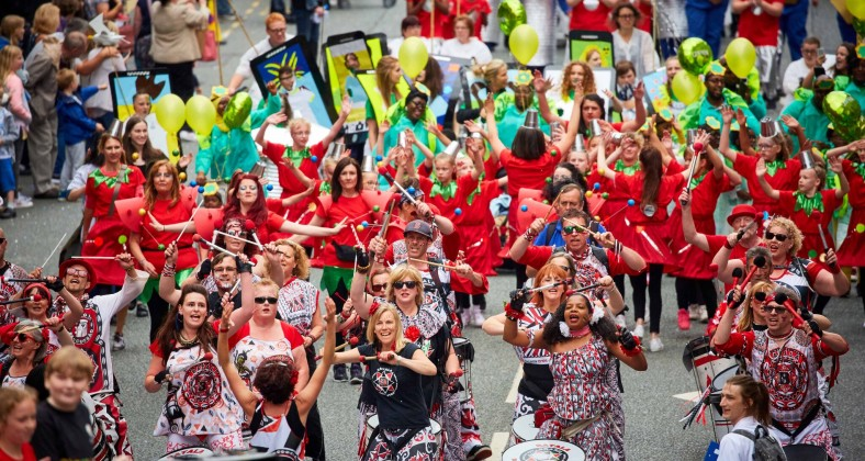 Manchester Day 2016 Parade