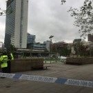Piccadily Gardens, GMP Police, Manchester, arrest