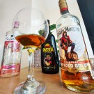 Alcohol bottles by Connie Enzler