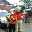 GM fire and rescue service, Cracker, fire dog