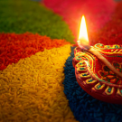 Diwali Carousel - Image courtesy of Phive