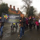 GMLC Demonstration - Photo Courtesy of Greater Manchester Law Centre
