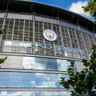 Etihad Stadium close-up photograph