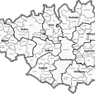 Greater Manchester county boundaries