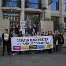 Generation Identity, Stand Up To Racism, University of Manchester