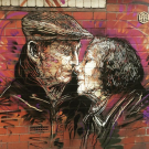 graffiti in Manchester's Northern Quarter