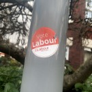 Vote Labour Sticker