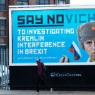 Theresa May say Novichok billboard